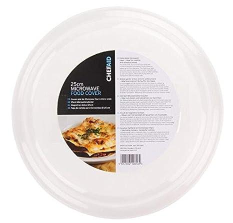 Chef Aid 25 cm microondas Tapa para Alimentos: Amazon.es: Hogar