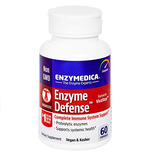 Enzymedica – Enzyme Defense, Complete Immune System Support, 60 Capsules (FFP) For Sale