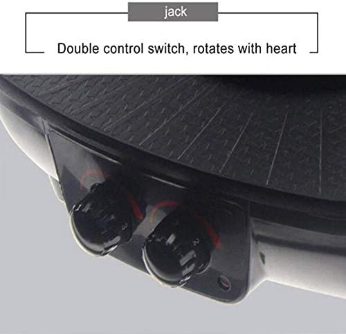 AWLLY Multifonctions Four électrique à Double Commande de rinçage du Four grillé Interrupteur à Double Commande Pas de vapeurs Non Collant Conception étanche 1600W