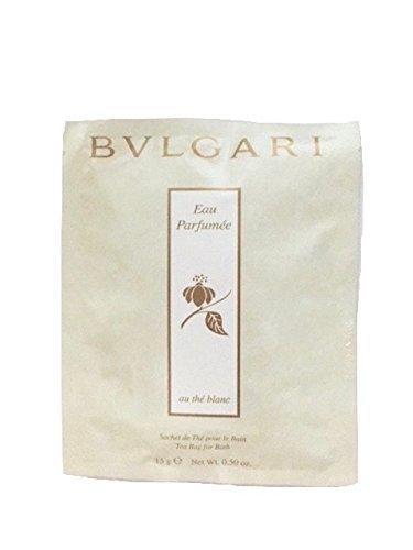 Bvlgari au the blanc (white tea) bath tea bags Set of ()