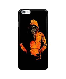 """gas mask ?custom iphone 6 Plus 5.5 inches case,durable iphone 6 Plus hard full wrap back case cover for iphone 6 Plus 5.5"""""""