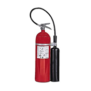 Kidde 466182 Pro 15 Carbon Dioxide Fire Extinguisher, Electronic Safe, Environmentally Safe, UL Rated 10-B:C