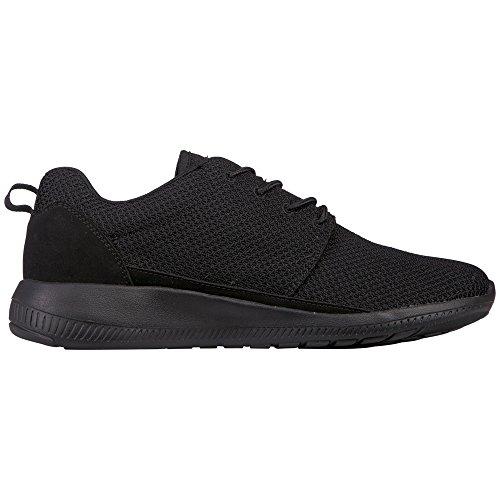 Kappa SPEED II OC Footwear unisex - zapatilla deportiva de material sintético Unisex adulto negro - Schwarz (1116 black/grey)