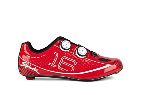 Spiuk 16 Road Carbono - Zapatillas unisex Rojo