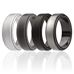 High quality affordable silicone wedding rings from ROQ house.       We have created for you awsome metal look and striped silicone rubber rings with unique design that will make you feel special. We are 100% sure that you will get man...