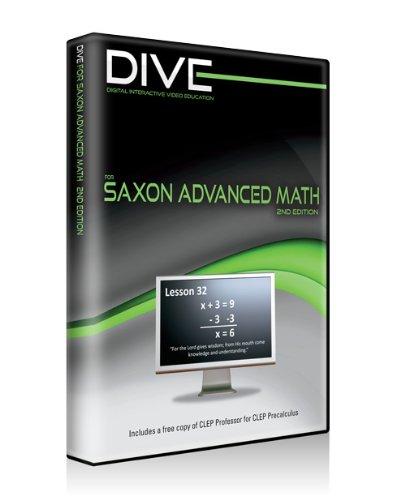 Dive Cd-ROM for Saxon Advanced Math 2nd Edition