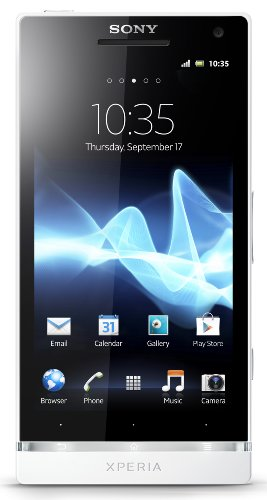 Sony Xperia S LT26i-WH Unlocked Phone with 12 MP Camera, Android 2.3 OS, Dual-Core Processor, and 4.3-Inch Touchscreen--U.S. Warranty (White)