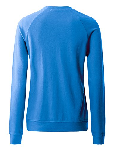 Regna X Women's Long Sleeve Crewneck Cotton Pullover Hooded Sweatshirts for Women by Regna X (Image #2)