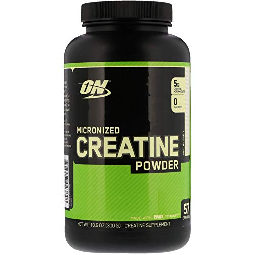 Optimum Nutrition Creatine Powder - Optimum Nutrition Micronized Creatine Powder Unflavored 10 6 oz 300 g
