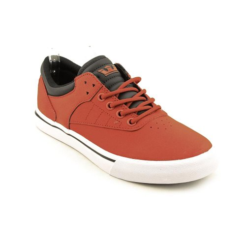 Supra Griffin Mens Taille 13 Chaussures En Toile Rouge Chaussures Uk 12 Eu 47.5