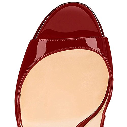 EDEFS - Zapatos con tacón Mujer leopardo