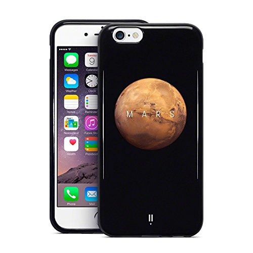Call Candy 3d Imprimé Mars Planet Collection pour Apple iPhone 6s/6–Noir