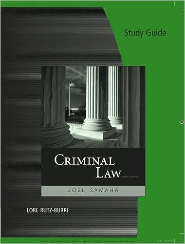 Criminal Law - Joel Samaha - Google Books