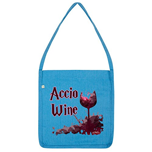 Twisted Envy Accio Wine Tote Bag Blue