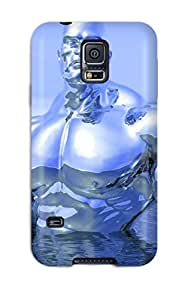 Galaxy Case For Galaxy S5 With Nice Silver Surfer Appearance