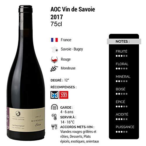 Vin-de-Savoie-Mondeuse-Elisa-Rouge-2017-Domaine-Jean-Franois-Qunard-Vin-AOC-Rouge-de-Savoie-Bugey-Cpage-Mondeuse-75cl-1820-La-Revue-du-Vin-de-France