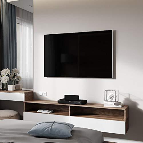 PUTORSEN® Support Mural TV avec Bras Articulé Orientable Inclinable pour la Plupart des Téléviseurs à Écran Plat de 23 à 55 Pouces jusqu\'à VESA 400x400 mm et 30 kg