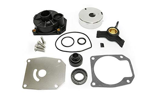 JingSer Johnson Evinrude 40HP 50HP Water Pump Repair Kit Impeller Replacement Parts with Housing Sierra 18-3454 Outboard Motors 438592 433548 433549 777805
