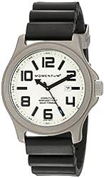 Momentum Men's 1M-SP08L8B Cobalt Lite Black Diver Rubber Watch