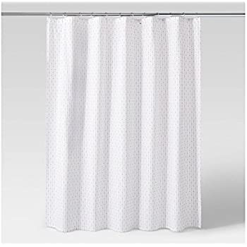 Project 62 Grid Dot Textured Shower Curtain