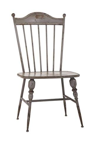 IMAX 89634 Chatham Metal Side Chair, - Room Living Chatham Chair