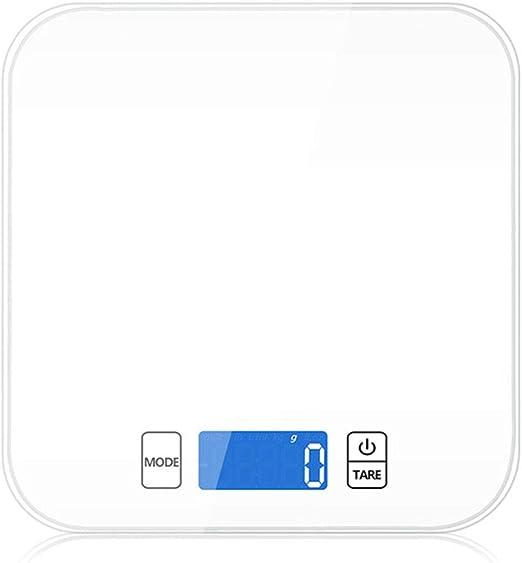 SHUHAO Escalera De Cocina, con Pantalla LCD HD, 15KG / 1G De Alta ...