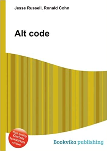 Alt code: Amazon co uk: Ronald Cohn Jesse Russell: Books