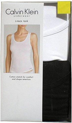Calvin Klein 2 Pack Tank Tops Black & White, X-Large