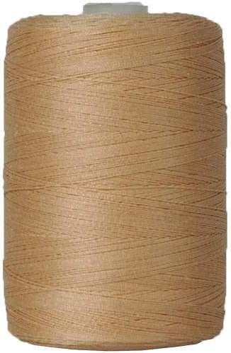 Sewing For Quilting Color YELLOW Threadart 100/% Cotton Thread 50 Colors Available 1000M Spools 50//3 Weight and Serging