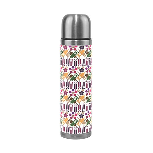 imobaby Jennifer Japanese National Style Leak Proof Water Bottle Insulated Vacuum Stainless Steel Thermos by imobaby