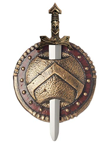 California Costumes Spartan Combat Shield And Sword,