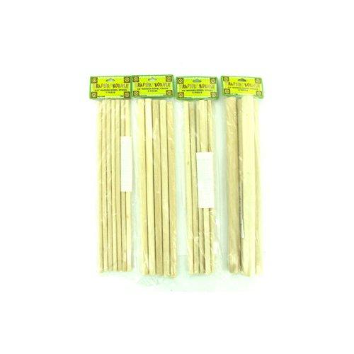 Wooden Dowel Craft Sticks 12/Pack (8 Pack)