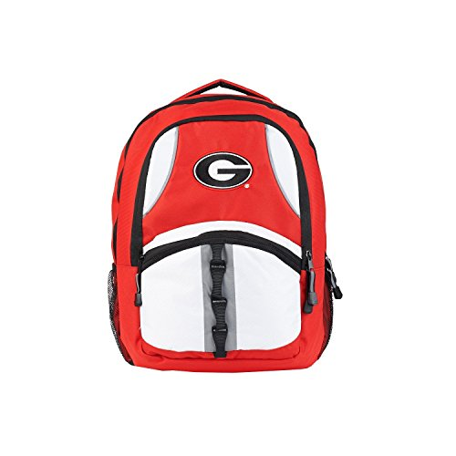 The Northwest Company NCAA Georgia Bulldogs Captain Backpack, 18.5-Inch, Red