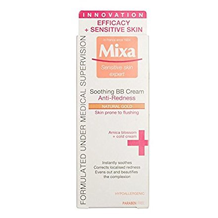 MIXA BB+ Anti-redness Soothing BB Cream - Natural Gold by MI