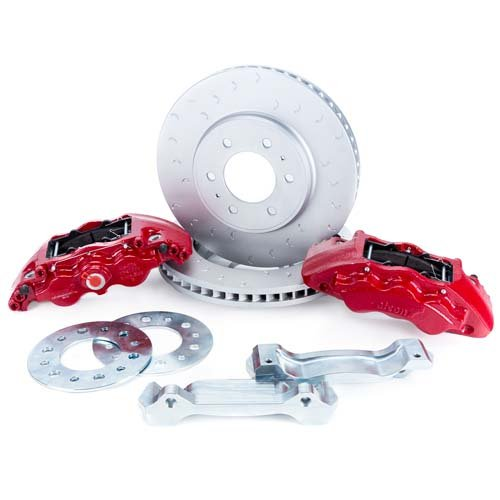 (Alcon Ford Raptor Front Brake Kit For 2010-2018 Models)