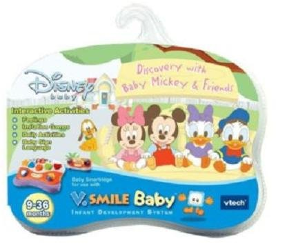 VTech - V.Smile Baby - Baby Mickey Smile Baby Learning System Cartridge