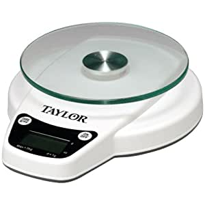 TAYLOR 3800N 6lb Capacity Digital Kitchen Scale