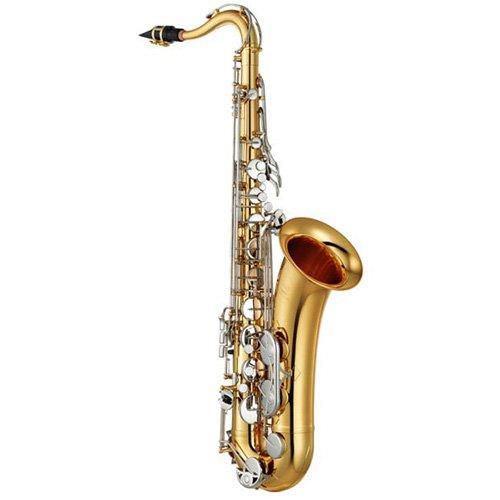 Yamaha YTS-26 Standard Tenor Saxophone Lacquer with Nickel Keys by Yamaha (Image #1)