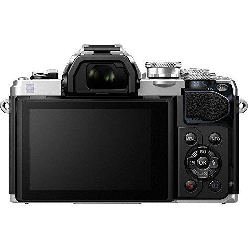 Olympus OM-D E-M10 Mark III (Mark 3) Digital Camera [Silver] + M.Zuiko Digital ED 14-42mm f/3.5-5.6 EZ Lens (Silver) + M.Zuiko Digital ED 40-150mm f/4.0-5.6 R Lens (Silver) by Olympus (Image #6)