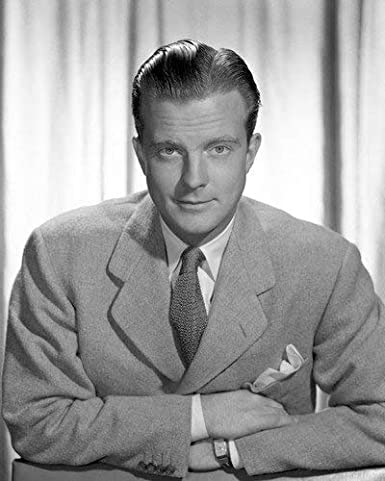 William Lundigan sharp looking in full suit with watch 16x20 ...