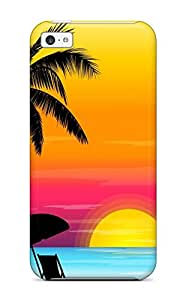 New Vector Art Tpu Skin Case Compatible With Iphone 5c