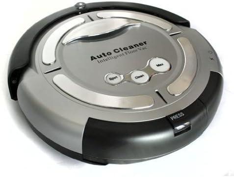 Klarstein Cleanfriend - Robot aspirador automático, color plateado: Amazon.es: Hogar