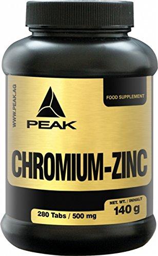 Peak Chromium - Zink 280 Tabletten