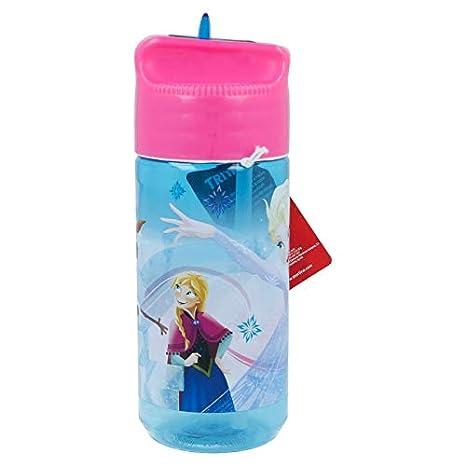 Stor Botella TRITAN HIDRO PEQUEÑA 430 ML. Frozen Iridescent Aqua: Amazon.es: Juguetes y juegos