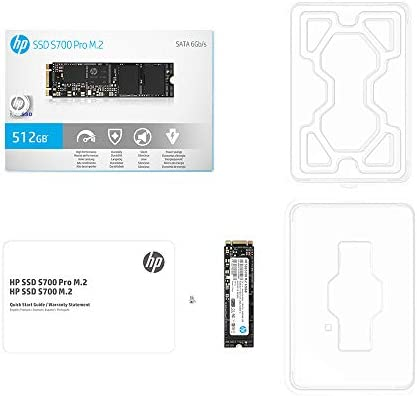 HP 2LU74AA#ABC SSD S700 PRO M.2 2280 128GB SATA III 3-d TLC NAND Internal Solid State Drive