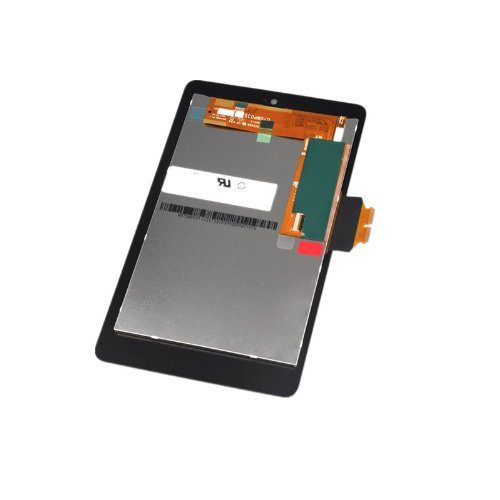 Nexus 7 (1st Gen) LCD Screen Touch Digitizer Front Panel Assembly Replacement with Power Volume Button Flex Cable+tools kit for Asus Google Nexus 7 2012 3G&Wi-Fi Model by FixCracked (Image #2)