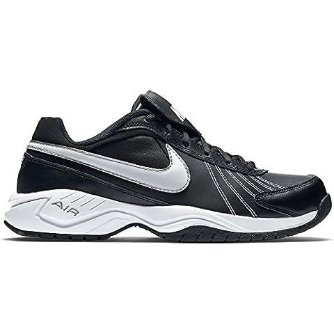 Nike Air Diamond Trainer - 333785-012 (14, Black/White-Metallic Silver) (Nike Diamond Cross)