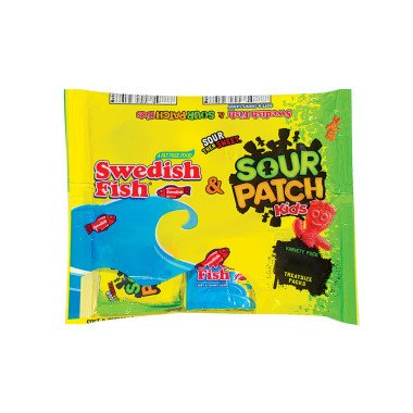 SOUR PATCH KIDS CANDY SWEEDISH FISH 13.2 OZ -
