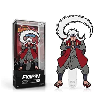 FiGPiN - Naruto Shippuden: Jiraiya - Collectible Pin with Premium Display Case: Toys & Games