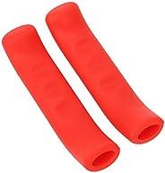 Brake Grip Cover, 1Pair Silicone Soft Bike Brake Lever Grip Anti-Slip Shock Absorption Brake Handle Grip